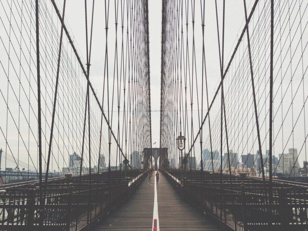 bridge as a background