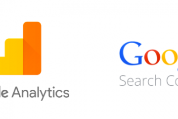 Google Analytics and Google Search Console Logo